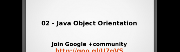 Webinar - Java Object Oriented Programming Concepts